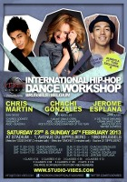 Chachi Gonzales, Chris Martin & Jerome Esplana @ International Dance Workshops - February 23 & 24 2013