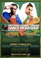 Guillaume Lorentz & Camron One-Shot @ International Urban Dance Workshop - March 3rd 2013