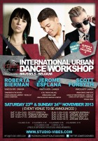 Roberta Bierman, Jerome Esplana & Scott Forsyth @ International Urban Dance Workshop - November 2013